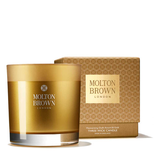 Oudh Accord & Gold Three Wick Candle