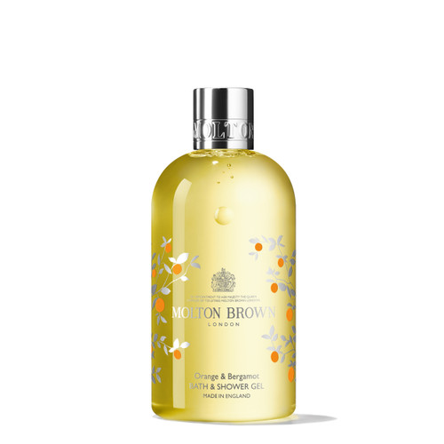 Limited Edition Orange & Bergamot Bath & Shower Gel