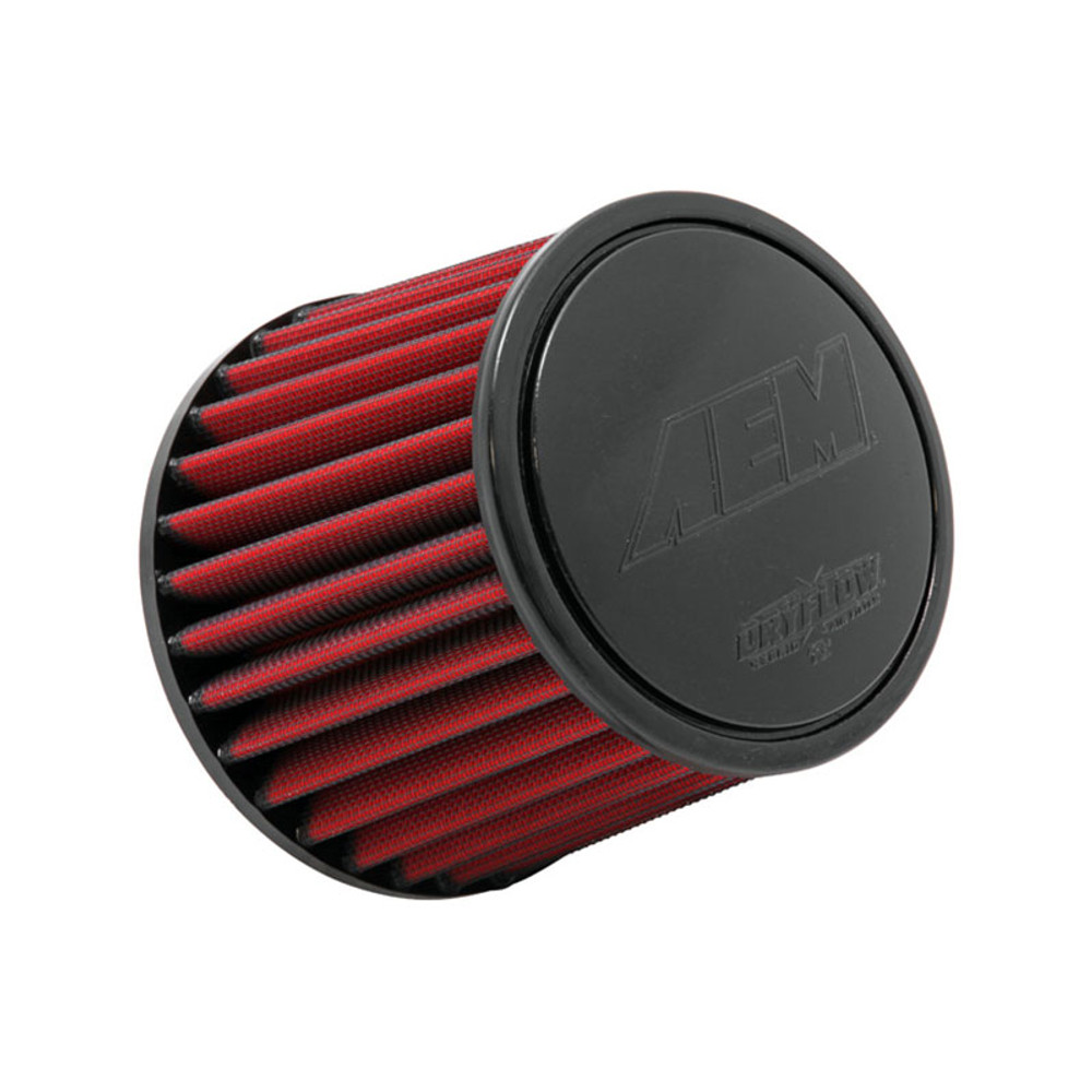 """RED 2010 UNIVERSAL 64mm 2.5/"""" SMALL  AIR INTAKE FILTER"""