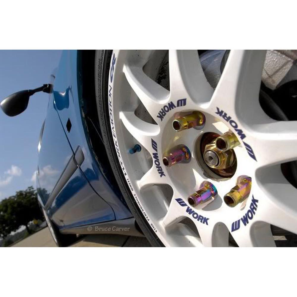 M12 X 1.25mm Aluminum Wheel Lug Nuts Purple Fit 370z GTR 350Z S13 S14 G35 G37