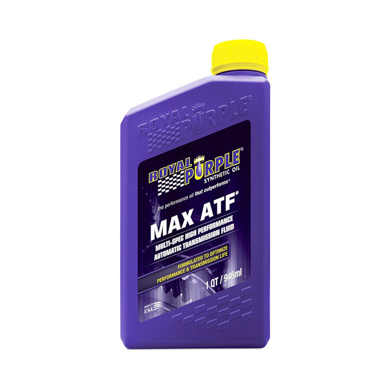 ROYAL PURPLE (01320) MAX ATF, AUTOMATIC TRANSMISSION FLUID (QUART)