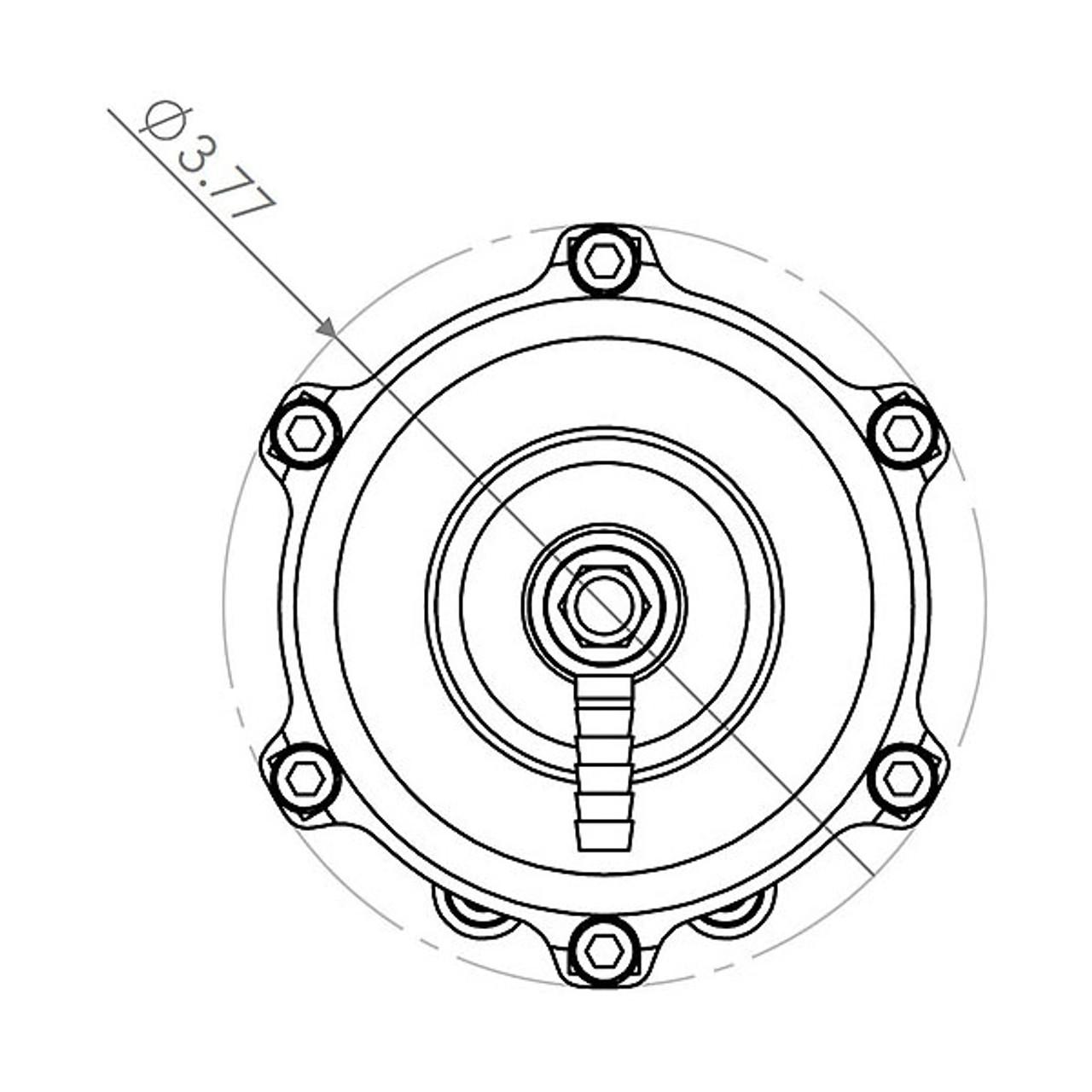 Tial 002576 Q 2 50 Mm Blow Off Valve Silver Color 2 Psi