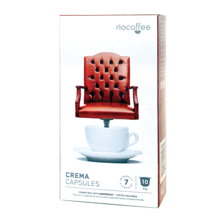Crema Coffee Pods (6 x 10)