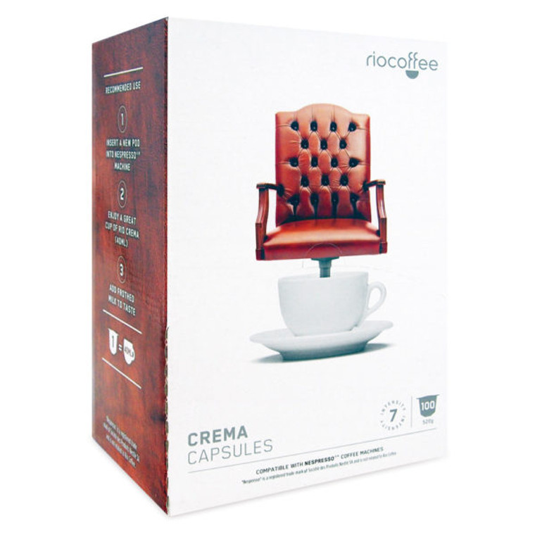 Crema Coffee Pods (100)
