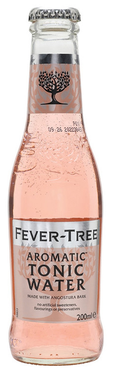 Fever Tree Aromatic Tonic 200ml 24 Pack