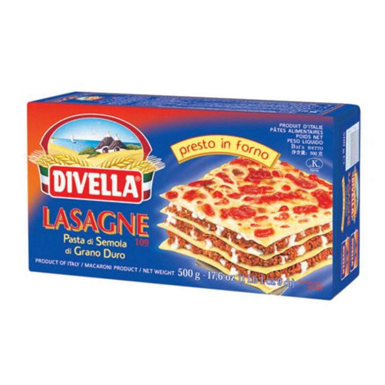 Divella Lasagne De Semola 109