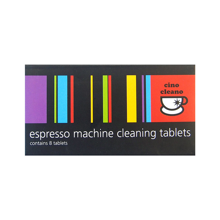 Cino Cleano Espresso Machine Tablets 8PK