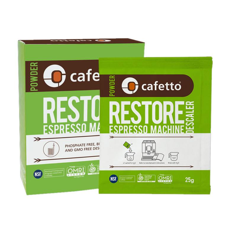 Cafetto Restore Descaler 4 x25g