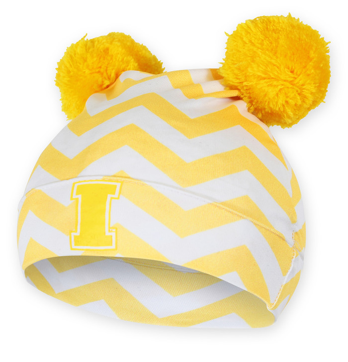 Iowa Hawkeyes Gold Infant Beanie - Adrian