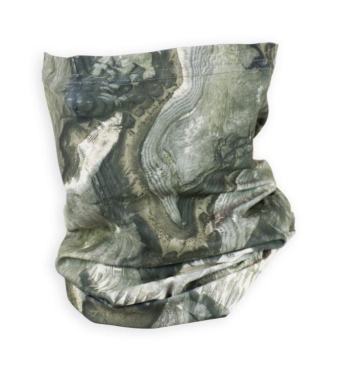 Mossy Oak Elements Stone Camo Neck Sleeve Adult