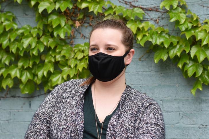 Bendable Nose Piece Reusable Face Mask 5 PK