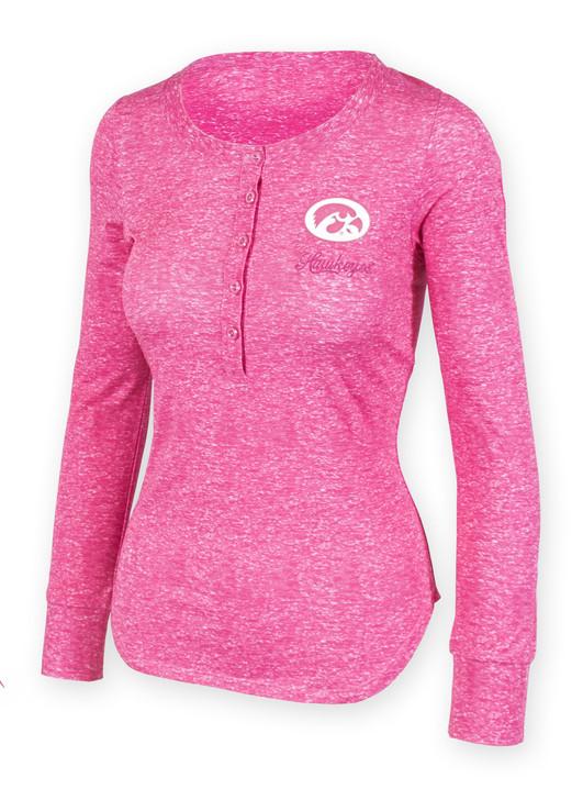 Alexa Long Sleeve Pink Heather