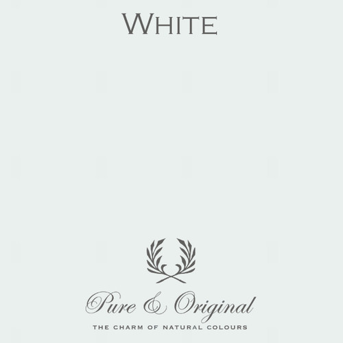 Pure & Original Classico Chalk Based Paint in White (Also Available in Fresco Lime Paint and Marrakech Wall Paint)