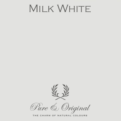 Pure & Original Classico Chalk Based Paint in Milk White (Also Available in Fresco Lime Paint and Marrakech Wall Paint)
