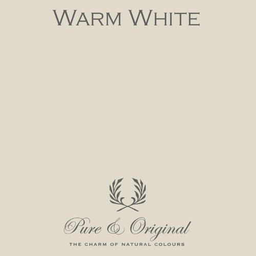 Pure & Original Classico Chalk Based Paint in Warm White (Also Available in Fresco Lime Paint and Marrakech Wall Paint)