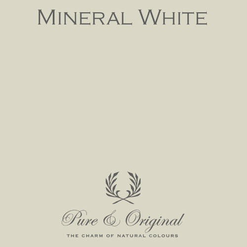 Pure & Original Classico Chalk Based Paint in Mineral White (Also Available in Fresco Lime Paint and Marrakech Wall Paint)