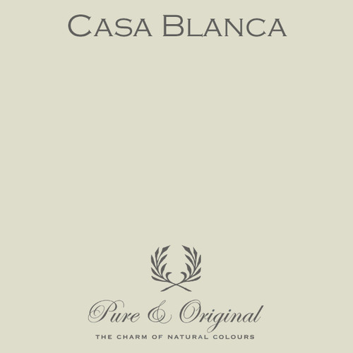 Pure & Original Classico Chalk Based Paint in Casa Blanca (Also Available in Fresco Lime Paint and Marrakech Wall Paint)