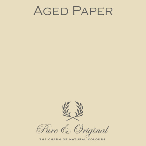 Pure & Original Classico Chalk Based Paint in Aged Paper (Also Available in Fresco Lime Paint and Marrakech Wall Paint)