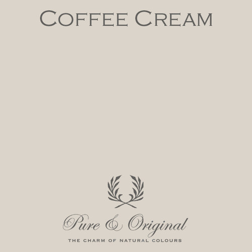 Pure & Original Classico Chalk Based Paint in Coffee Cream (Also Available in Fresco Lime Paint and Marrakech Wall Paint)