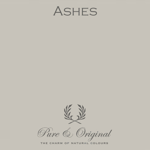 Pure & Original Classico Chalk Based Paint in Ashes (Also Available in Fresco Lime Paint and Marrakech Wall Paint)