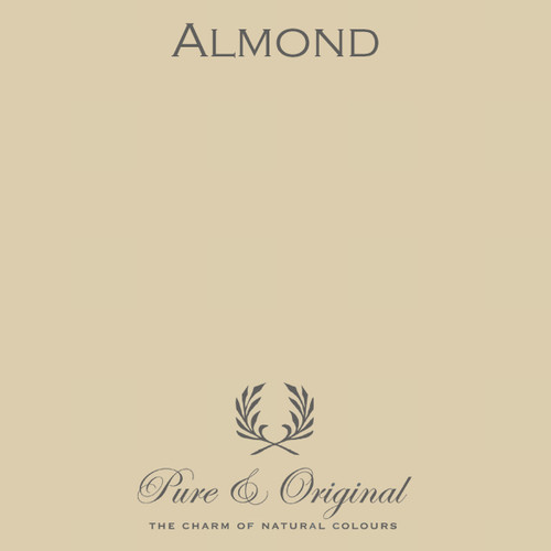 Pure & Original Classico Chalk Based Paint in Almond (Also Available in Fresco Lime Paint and Marrakech Wall Paint)