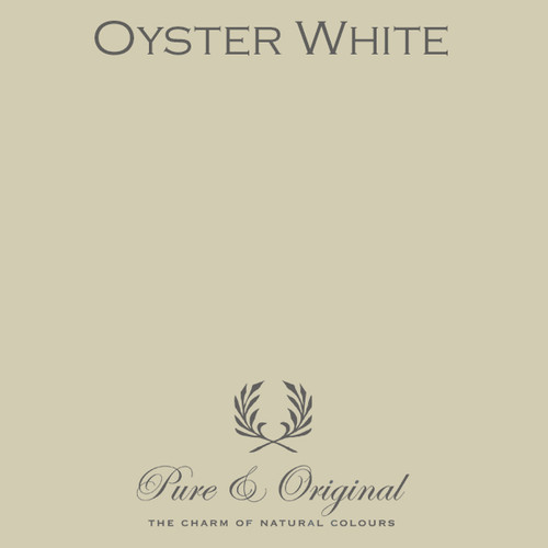 Pure & Original Classico Chalk Based Paint in Oyster White (Also Available in Fresco Lime Paint and Marrakech Wall Paint)