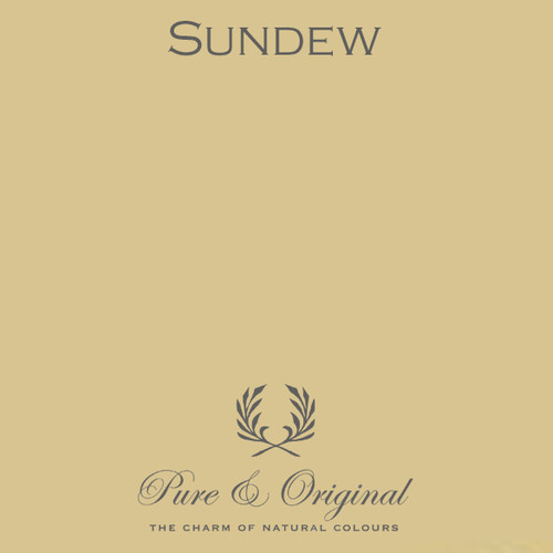 Pure & Original Classico Chalk Based Paint in Sundew (Also Available in Fresco Lime Paint and Marrakech Wall Paint)
