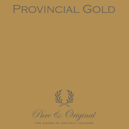 Pure & Original Classico Chalk Based Paint in Provincial Gold (Also Available in Fresco Lime Paint and Marrakech Wall Paint)