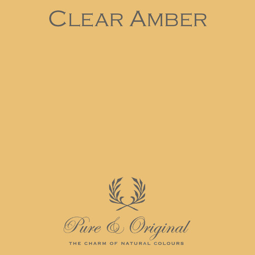 Pure & Original Classico Chalk Based Paint in Clear Amber (Also Available in Fresco Lime Paint and Marrakech Wall Paint)