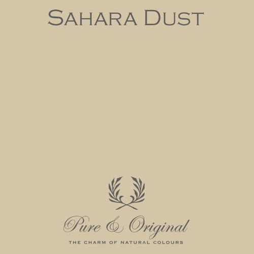 Pure & Original Classico Chalk Based Paint in Sahara Dust (Also Available in Fresco Lime Paint and Marrakech Wall Paint)
