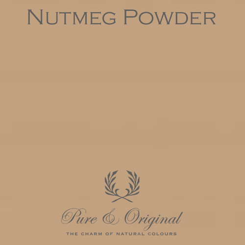 Pure & Original Classico Chalk Based Paint in Nutmeg Powder (Also Available in Fresco Lime Paint and Marrakech Wall Paint)