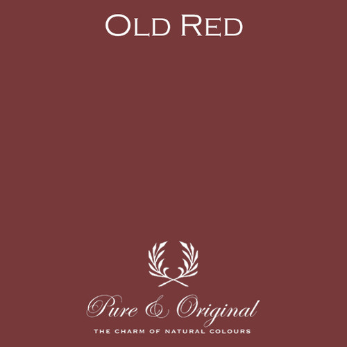 Pure & Original Classico Chalk Based Paint in Old Red