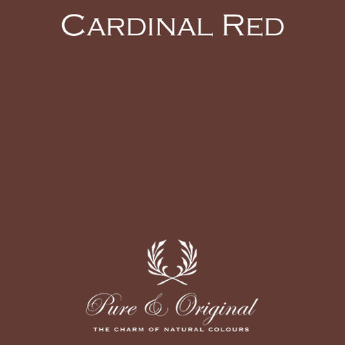 Pure & Original Classico Chalk Based Paint in Cardinal Red (Also Available in Fresco Lime Paint and Marrakech Wall Paint)