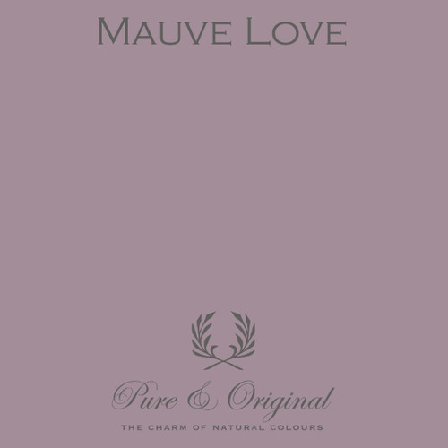 Pure & Original Classico Chalk Based Paint in Mauve Love (Also Available in Fresco Lime Paint and Marrakech Wall Paint)