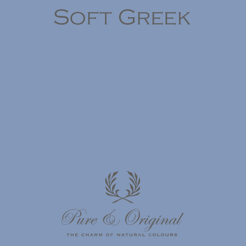 Pure & Original Classico Chalk Based Paint in Soft Greek (Also Available in Fresco Lime Paint and Marrakech Wall Paint)