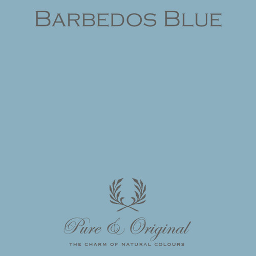 Pure & Original Classico Chalk Based Paint in Barbedos Blue (Also Available in Fresco Lime Paint and Marrakech Wall Paint)