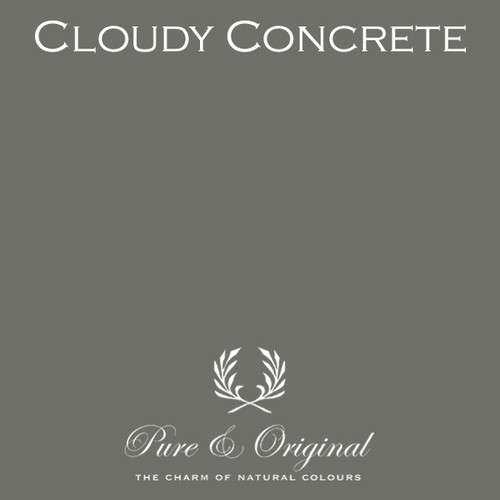 Pure & Original Classico Chalk Based Paint in Cloudy Concrete (Also Available in Fresco Lime Paint and Marrakech Wall Paint)