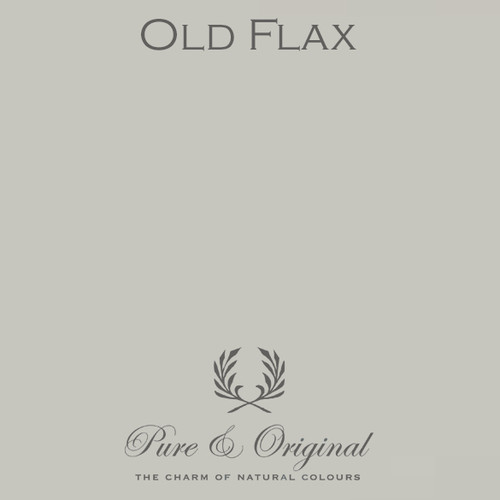 Pure & Original Classico Chalk Based Paint in Old Flax (Also Available in Fresco Lime Paint and Marrakech Wall Paint)
