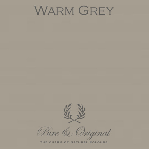 Pure & Original Classico Chalk Based Paint in Warm Grey (Also Available in Fresco Lime Paint and Marrakech Wall Paint)