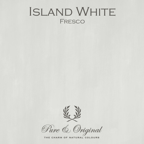 Pure & Original Fresco Lime Paint in Island White (Also Available in Classico Chalk Based Paint and Marrakech Wall Paint)