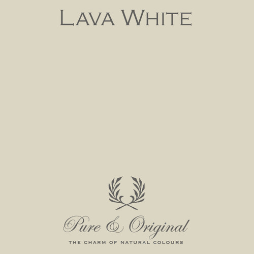 Pure & Original Fresco Lime Paint in Lava White (Also Available in Classico Chalk Based Paint and Marrakech Wall Paint)