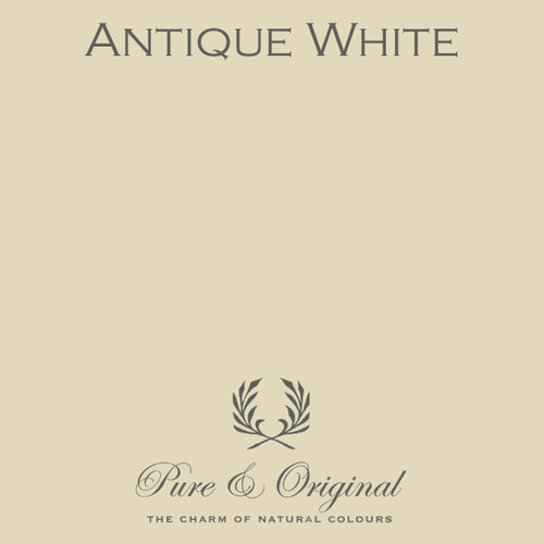 Pure & Original Fresco Lime Paint in Antique White (Also Available in Classico Chalk Based Paint and Marrakech Wall Paint)