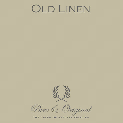 Pure & Original Classico Chalk Based Paint in Old Linen (Also Available in Fresco Lime Paint and Marrakech Wall Paint)