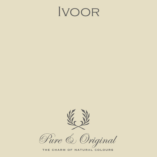 Pure & Original Marrakech Wall Paint in Ivoor (Also available in Classico Chalk Based Paint or Fresco Lime Paint)