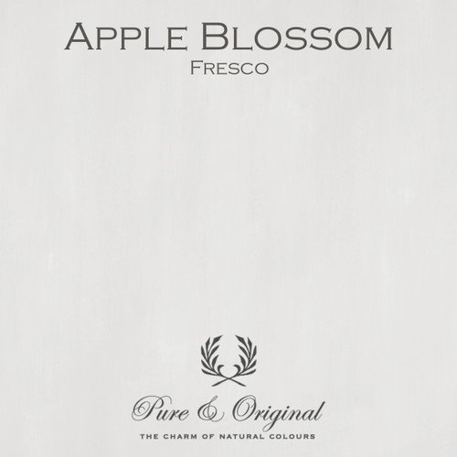 Pure & Original Fresco Lime Paint in Apple Blossom (Also Available in Classico Chalk Based Paint and Marrakech Wall Paint)