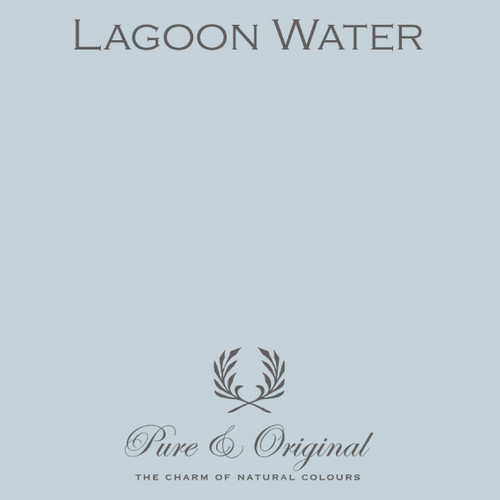 Pure & Original Marrakech Wall Paint in Lagoon Water (Also available in Classico Chalk Based Paint or Fresco Lime Paint)