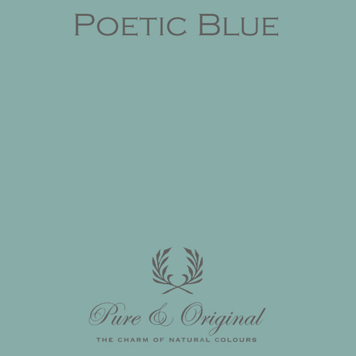 Pure & Original Marrakech Wall Paint in Poetic Blue (Also available in Classico Chalk Based Paint or Fresco Lime Paint)