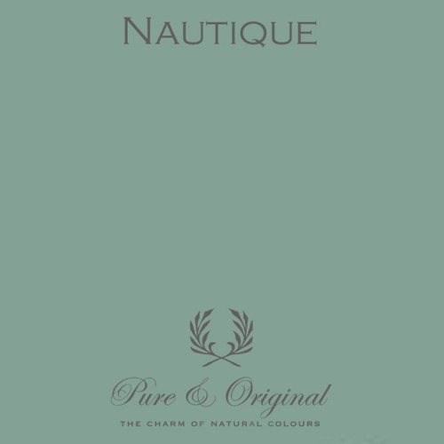 Pure & Original Marrakech Wall Paint in Nautique (Also available in Classico Chalk Based Paint or Fresco Lime Paint)