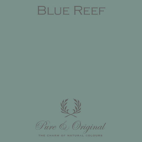 Pure & Original Fresco Lime Paint in Blue Reef (Also Available in Classico Chalk Based Paint and Marrakech Wall Paint)