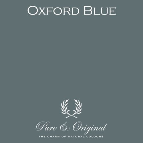 Pure & Original Fresco Lime Paint in Oxford Blue (Also Available in Classico Chalk Based Paint and Marrakech Wall Paint)